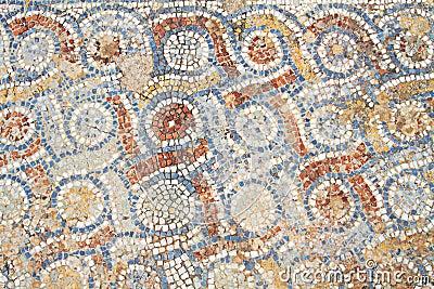 Mosaic in Ephesus