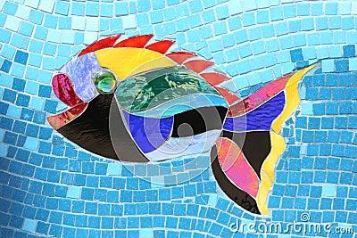 Mosaic Fish 1