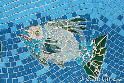 Mosaic Fish 2