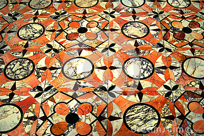 Mosaic Floor in Marble
