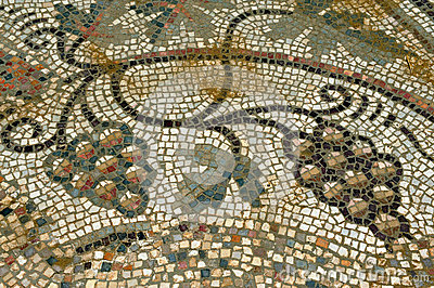 Mosaic of grape