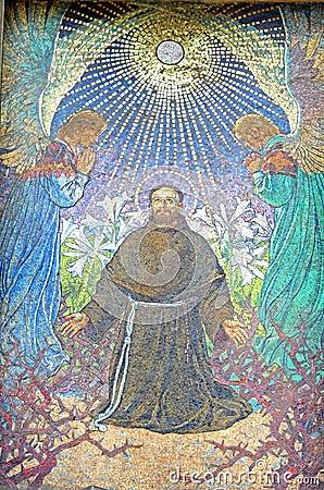 Mosaic in Krakow, Poland