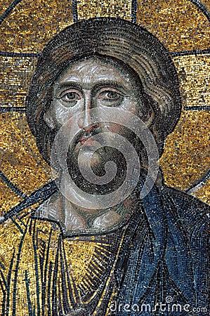 Free Mosaic Of Jesus Christ Stock Photo - 7575090