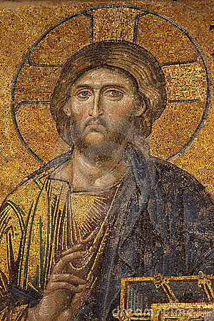 Free Mosaic Of Jesus Christ At Hagia Sofia Royalty Free Stock Photo - 7875045