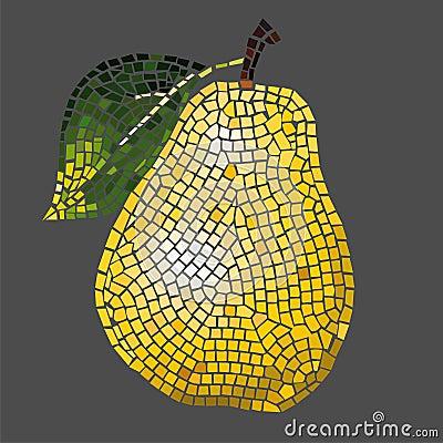Free Mosaic Pear Stock Photos - 4279723