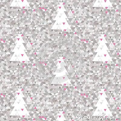 Mosaic pink background