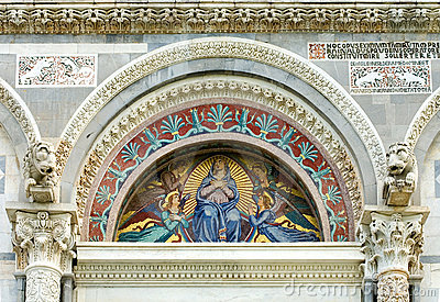 Mosaic, Pisa Cathedral, Italy