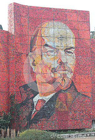 Free Mosaic Portrait Of Vladimir Lenin In Sochi, Russia Stock Image - 48754571