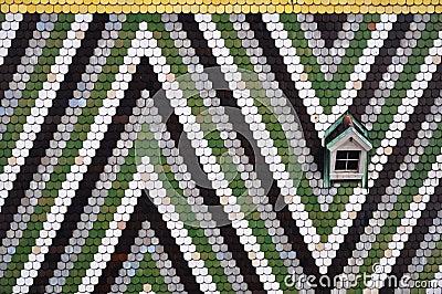 Mosaic roof, vienna