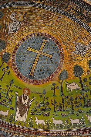 Free Mosaic Sant Apollinare Italy Stock Images - 23239514