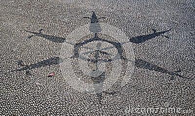 Mosaic shingle square