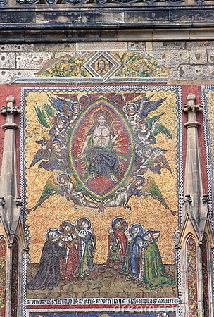 Mosaic on St Vitus s Cathedral