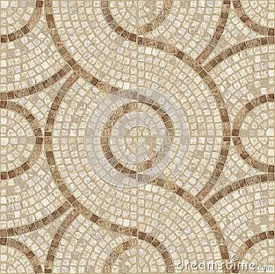 Mosaic texture.