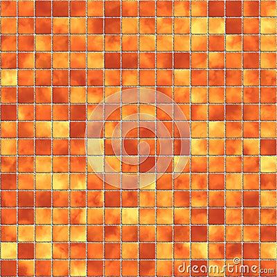 Mosaic tile seamless texture