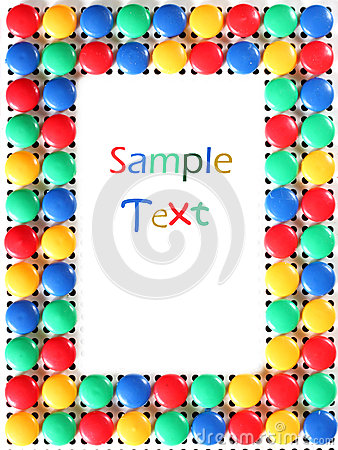 Mosaic toy frame