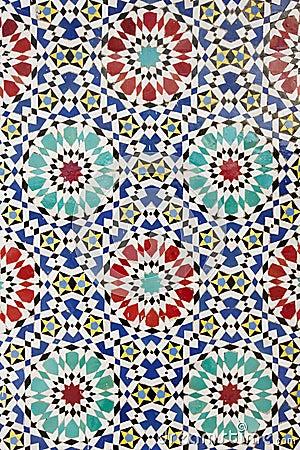mosaico rabe imagen de archivo imagen 4606441