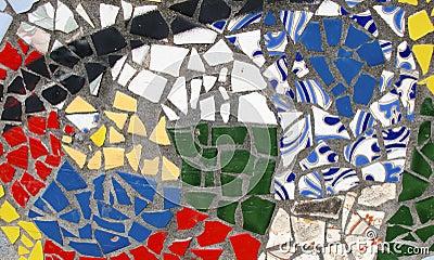 Mosaico abstrato