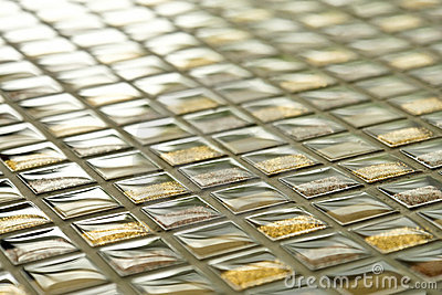 Mosaico de vidro
