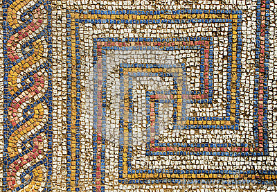 Mosaico do Romanesque