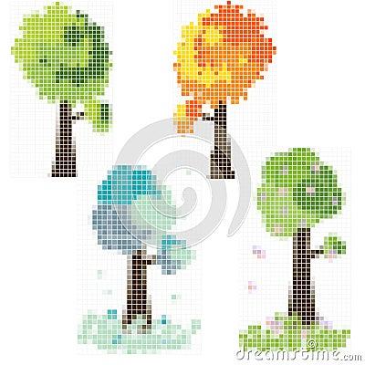 Mosaik tree