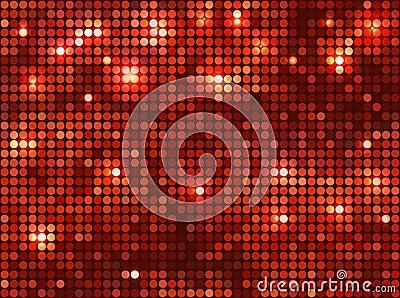 Mosaïque rouge horizontale