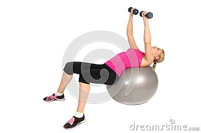 ejercicio gimnasia pecho: