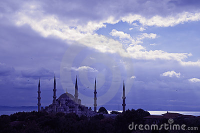 Moschea blu Costantinopoli