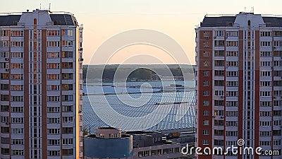 Moscou estufa por do sol tempo junho de 2018 filme