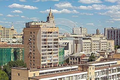 Moscow architectural schizophrenia