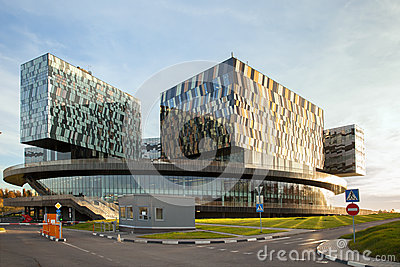 Moscow business school Skolkovo Editorial Image