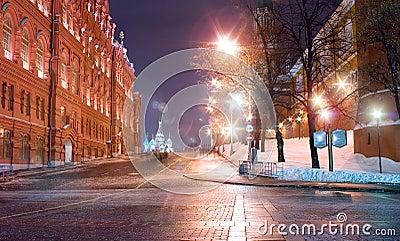 Moscow landmark architecture