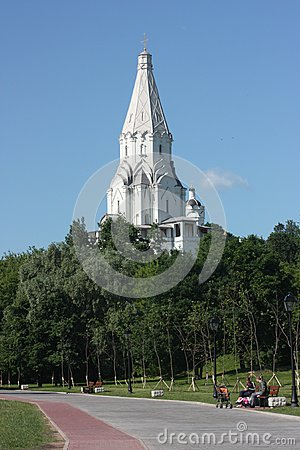 Moscow. Church of Vozneseniay in the estate Kolome