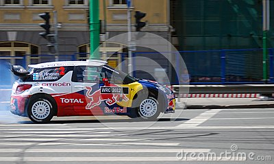 Moscow City Racing Editorial Photography