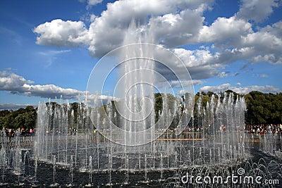 Moscow at day. Tsaritsyno