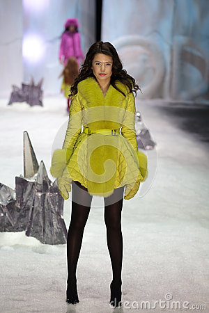 Moscow Fashion Week Editorial Stock Photo Image 41741563