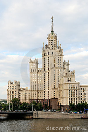 Free Moscow High Stalin Building Stock Photos - 6723453