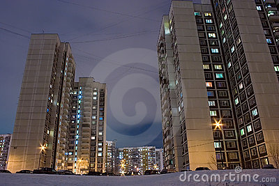 Moscow housing estate
