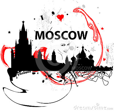 Moscow illustration