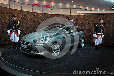 Moscow International Automobile Salon 2012. Citroe Editorial Image