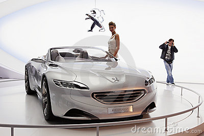 Moscow international motor show 2010 Editorial Photography
