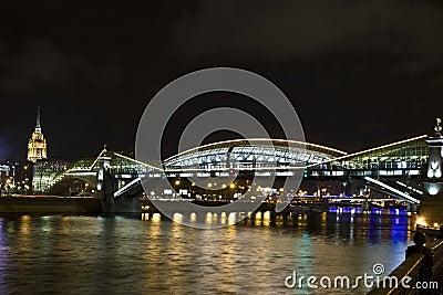 Moscow, Kievskiy (Bogdana Hmelnitskogo) bridge