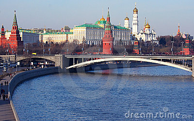 Moscow Kremlin cityscape