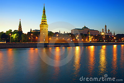 Moscow Kremlin. Royalty Free Stock Images - Image: 15145459