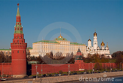 Moscow Kremlin. Editorial Stock Photo