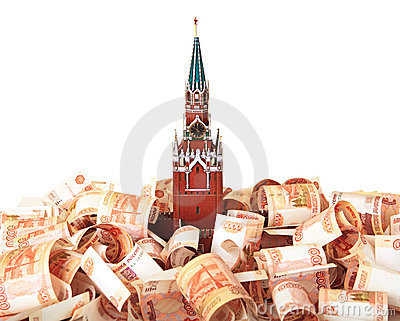 Moscow Kremlin on the money