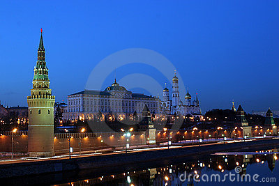 Moscow Kremlin (with Moscow-River, and it s embankment)