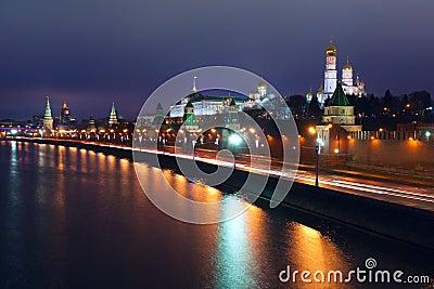 Moscow Kremlin night
