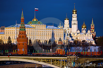 Moscow, Kremlin. Russia