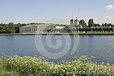 Moscow, Kuskovo palace