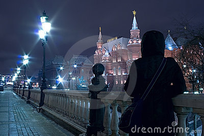 Moscow night tourism